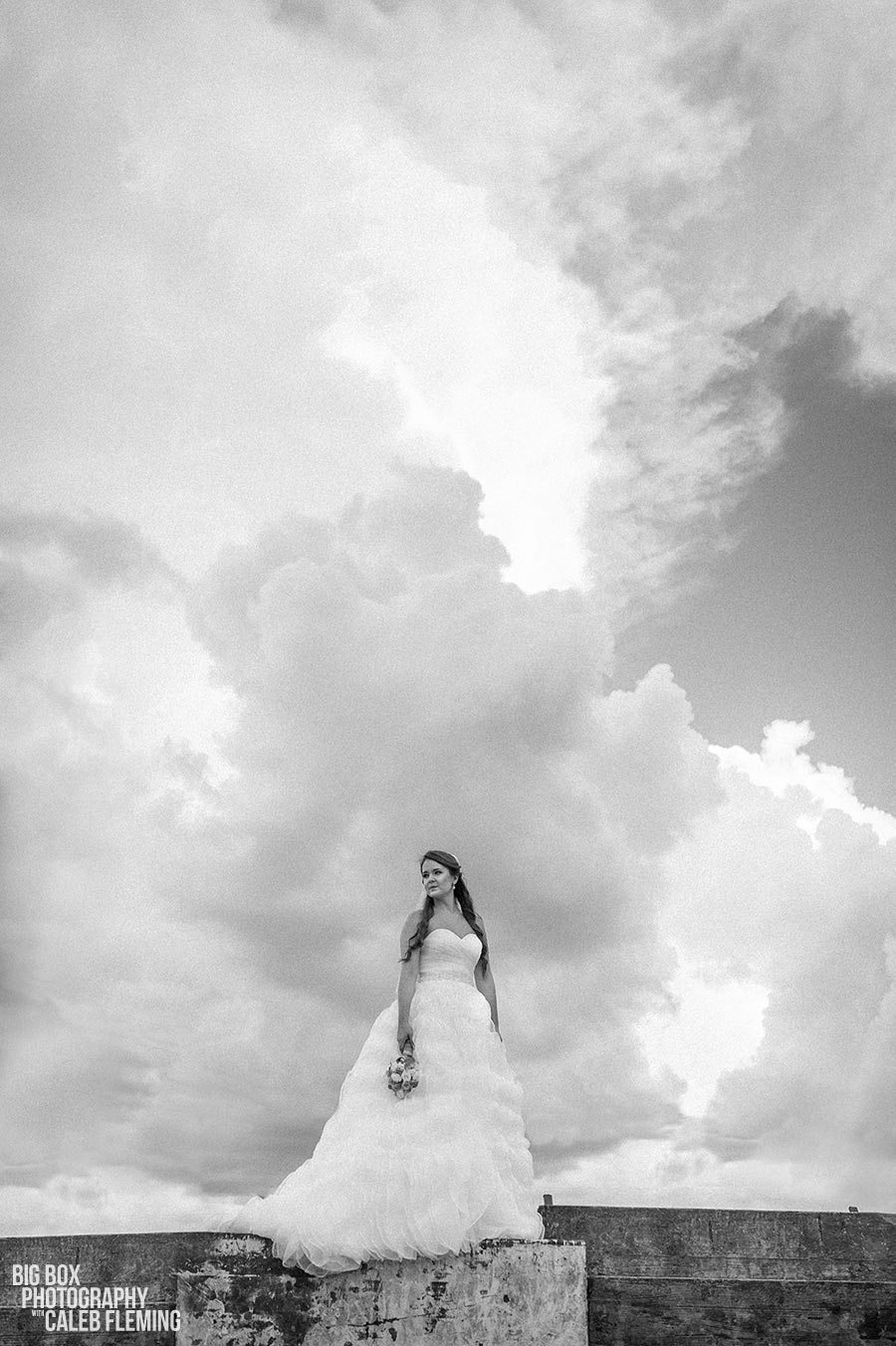 Rainy Bridals in Houston Texas